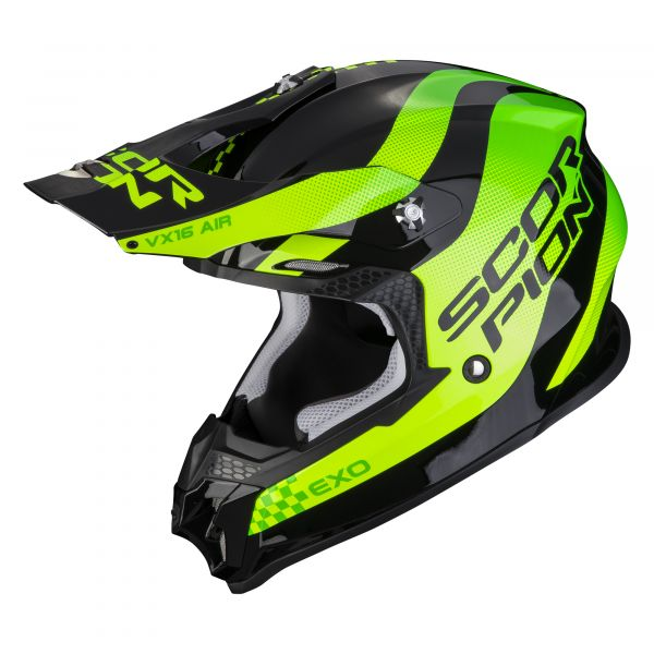Scorpion VX-16 AIR SOUL black-green