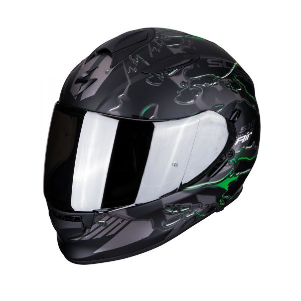 Scorpion Helm EXO-510 AIR LIKID matt black-green