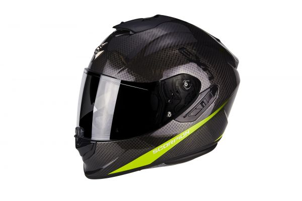 Scorpion Helm EXO-1400 Carbon AIR Pure Neon Yellow