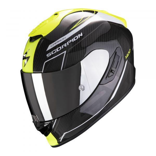 Scorpion EXO-1400 Carbon AIR Beaux white-neon yellow
