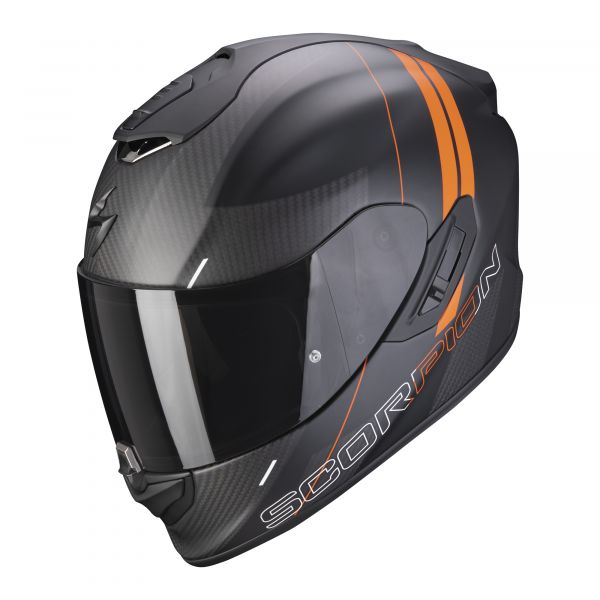 Scorpion EXO-1400 Carbon AIR DRIK matt black-orange