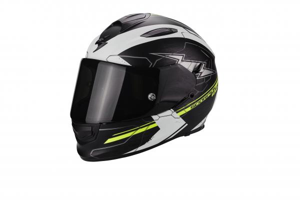 Scorpion EXO-510 AIR CROSS matt schwarz-weiß-neongelb