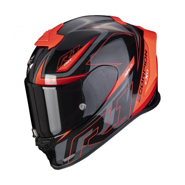 Scorpion EXO-R1 AIR GAZ black-red