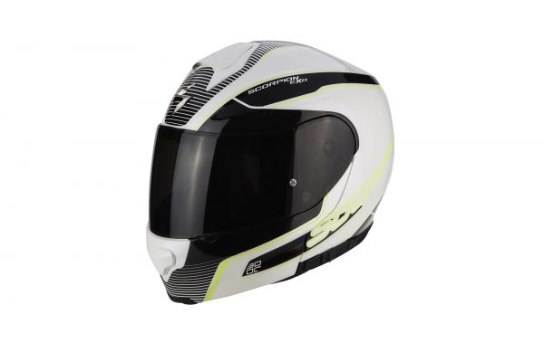 Scorpion EXO-3000 AIR Stroll pearl white-black-neon yellow