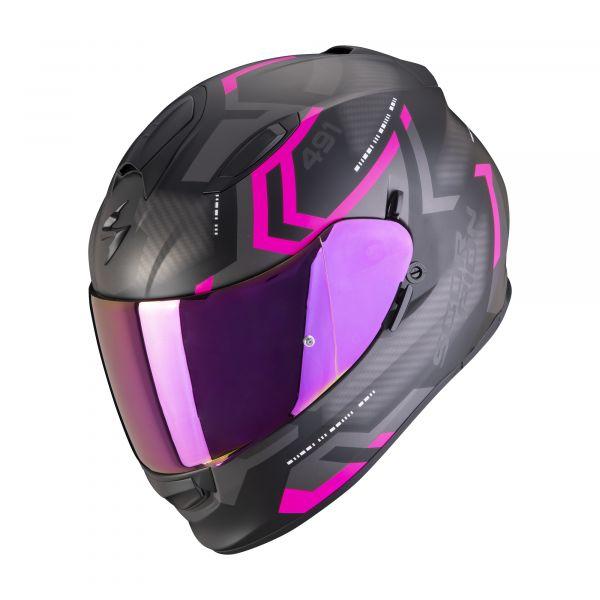 Scorpion EXO-491 SPIN matt black-pink