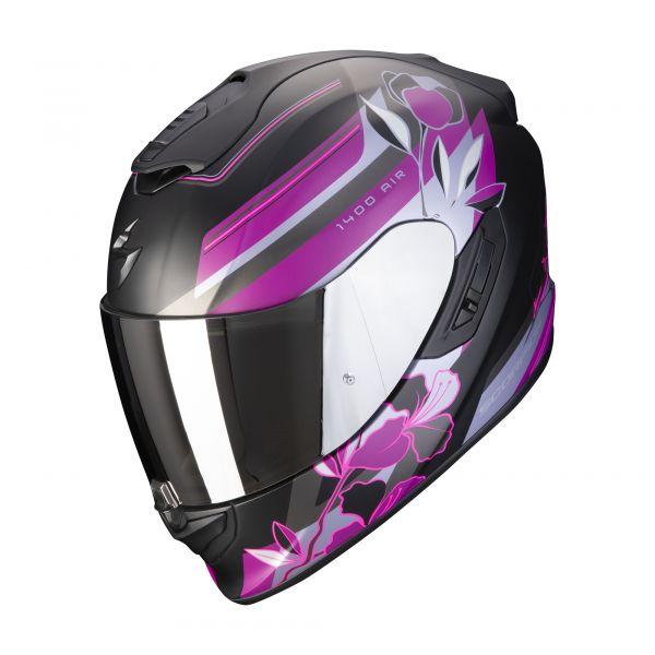 Scorpion EXO-1400 AIR GAIA matt black-pink