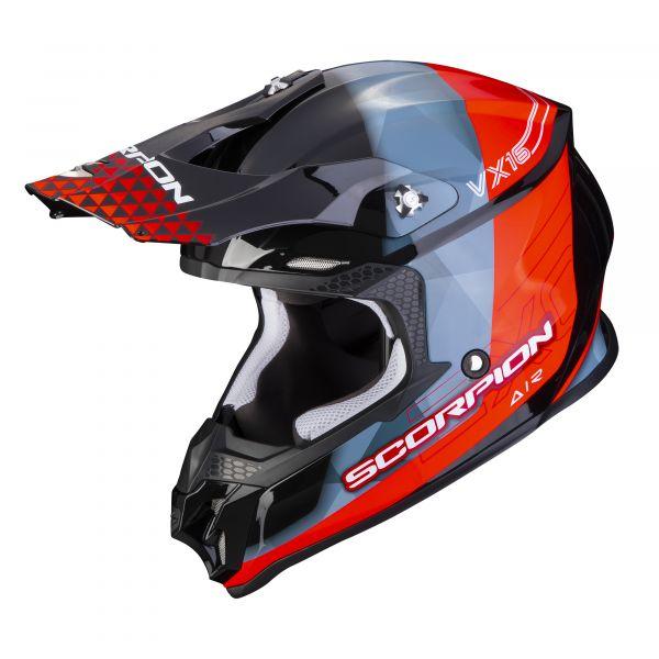Scorpion VX-16 AIR GEM black-red