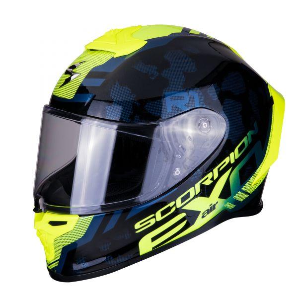 Scorpion EXO-R1 AIR OGI black-neon yellow