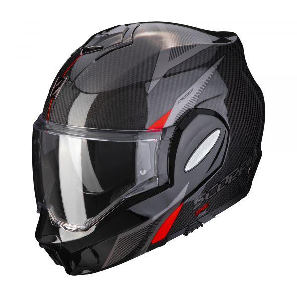 Scorpion EXO-TECH Carbon TOP black-red