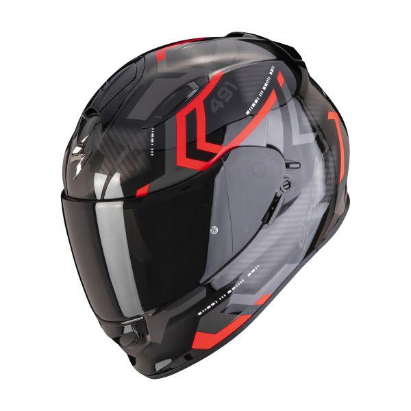Scorpion EXO-491 SPIN black-red