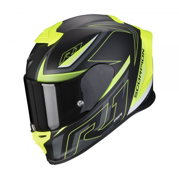 Scorpion EXO-R1 AIR GAZ matt black-neon yellow