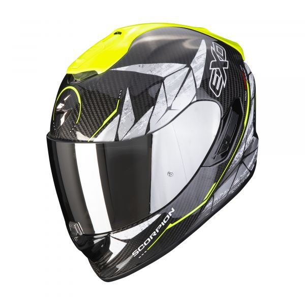Scorpion EXO-1400 Carbon AIR ARANEA black-neon yellow