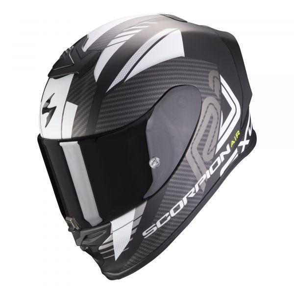 Scorpion EXO-R1 AIR Halley matt black-white