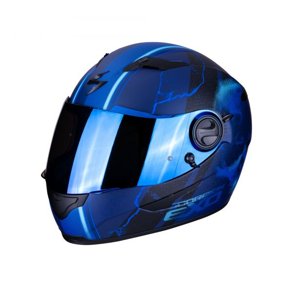 Scorpion Helm EXO-490 DAR  matt blue