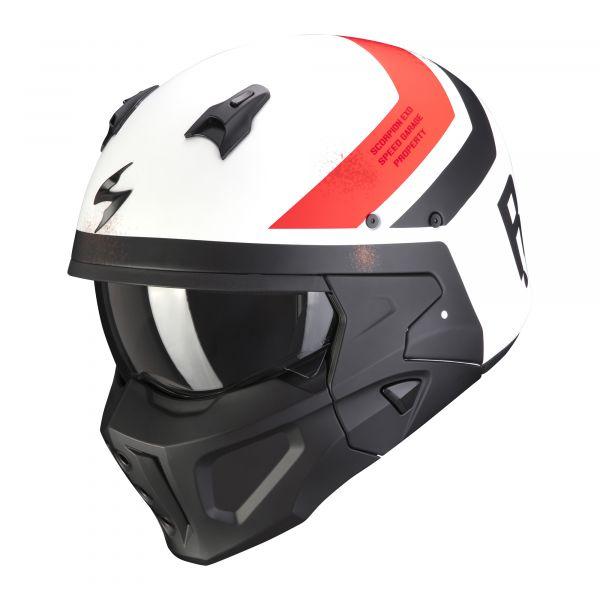 Scorpion Covert-X T-Rust matt white-red