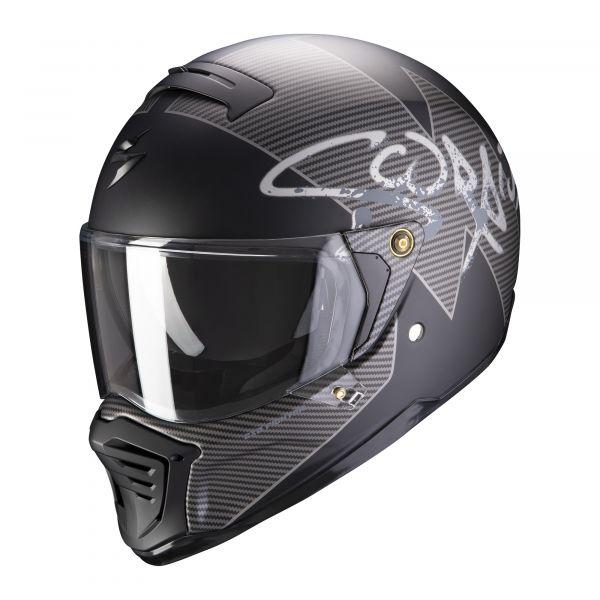 Scorpion EXO-HX-1 Taktic matt black-silver