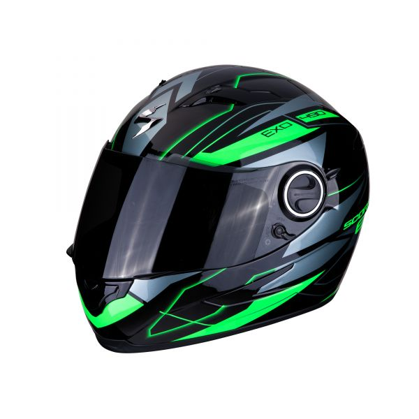 Scorpion Helm EXO-490 NOVA black-green