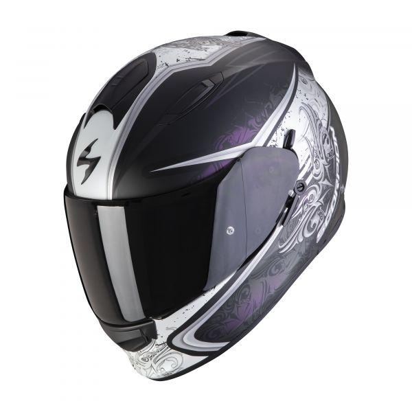 Scorpion EXO-491 RUN matt black chameleon