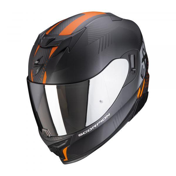 Scorpion EXO-520 AIR LATEN matt black-orange