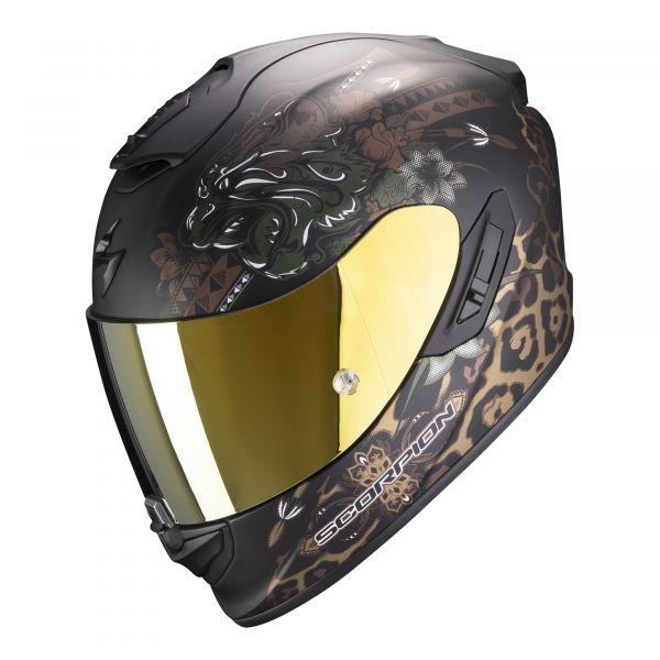Scorpion EXO-1400 AIR TOA matt black-gold