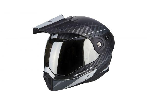 Scorpion ADX-1 Dual Matt Black-Silver