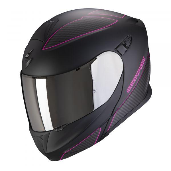 Scorpion EXO-920 Flux matt black-pink