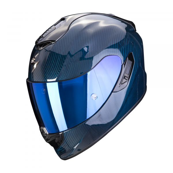 Scorpion EXO-1400 Carbon AIR Solid blue