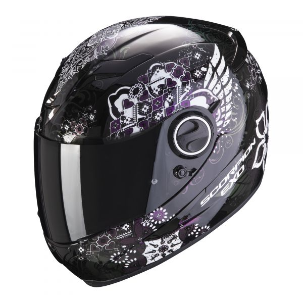 Scorpion Helm EXO-490 Divina black-chameleon