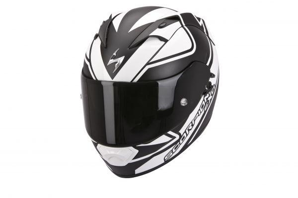Scorpion Helm EXO-1200 AIR Freeway Matt Schwarz-Weiss