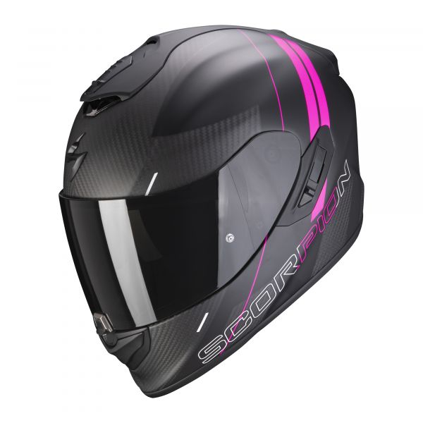 Scorpion EXO-1400 Carbon AIR DRIK matt black-pink