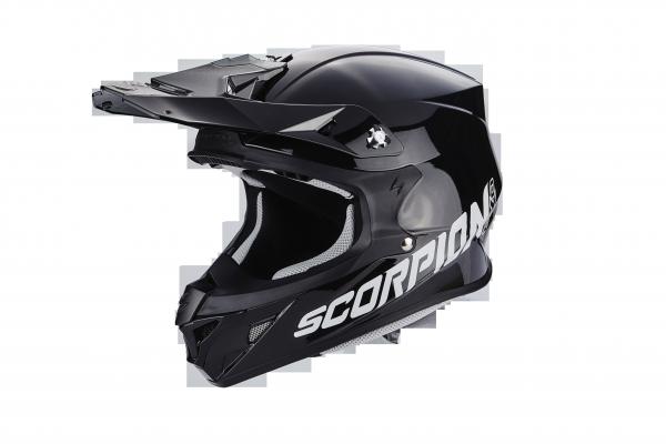 Scorpion Crosshelm VX-21 AIR Solid schwarz