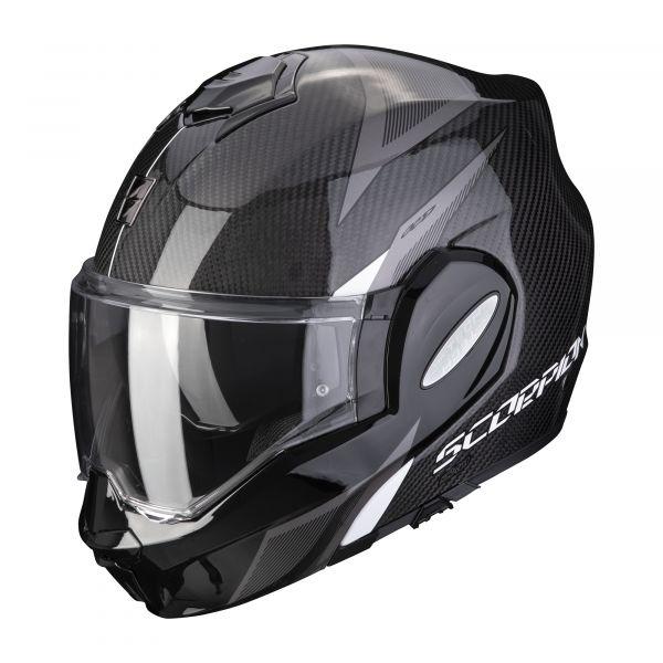 Scorpion EXO-TECH Carbon TOP black-white