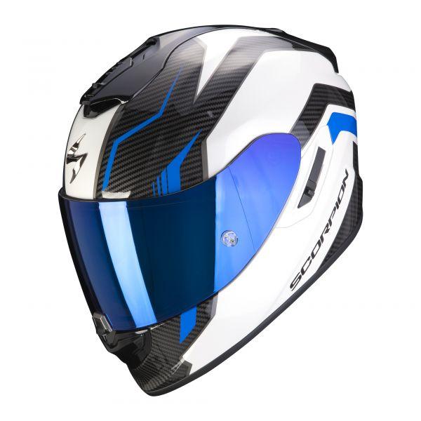 Scorpion EXO-1400 AIR Fortuna white-blue