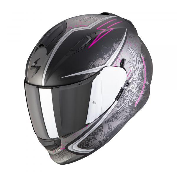 Scorpion EXO-491 RUN matt black-pink
