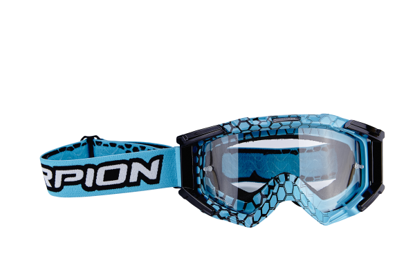 Scorpion  Cross-Brille himmelblau