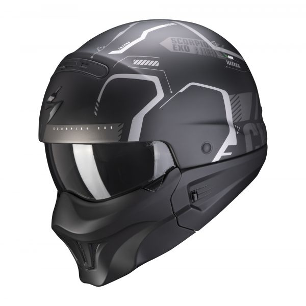 Scorpion EXO-Combat Evo RAM matt black-silver