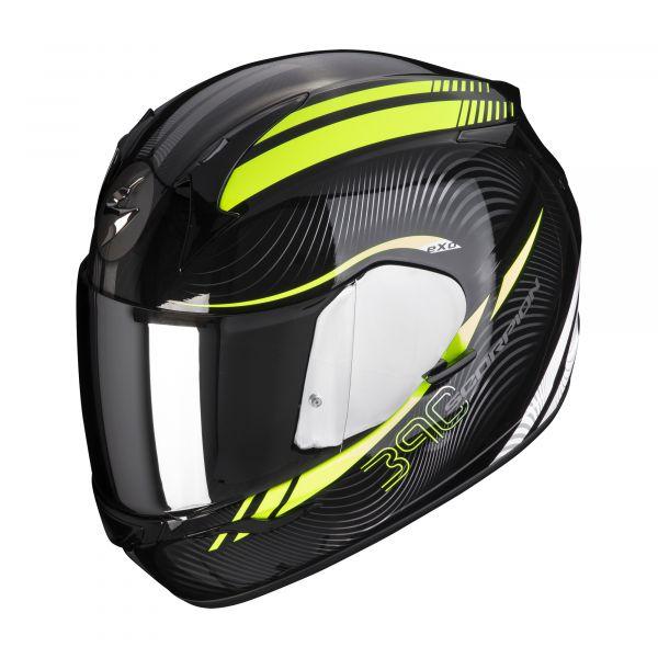 Scorpion Helm EXO-390 STING black-neon yellow
