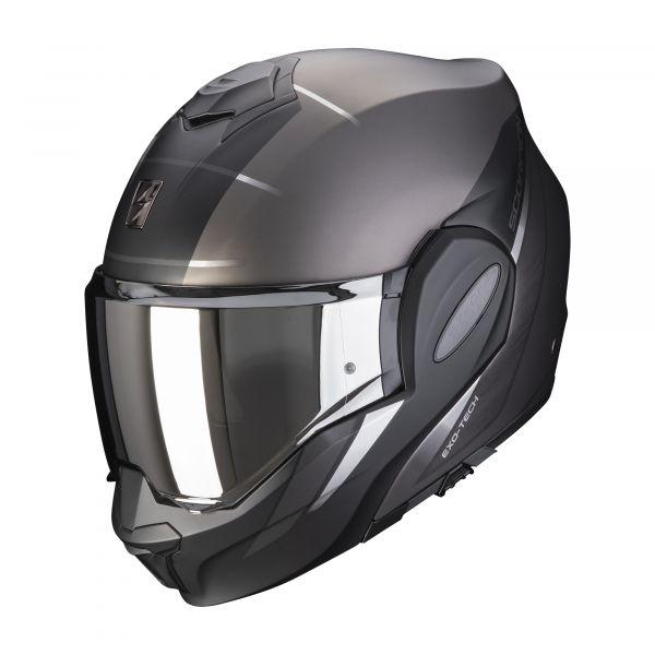 Scorpion EXO-TECH Primus matt silver-black