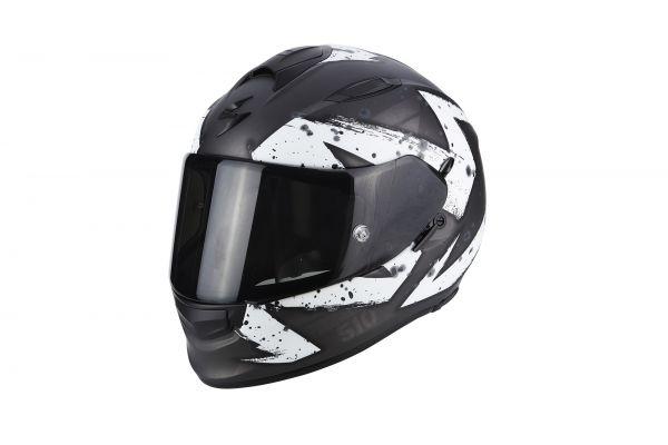 Scorpion EXO-510 AIR Marcus Matt Dark Silver-White