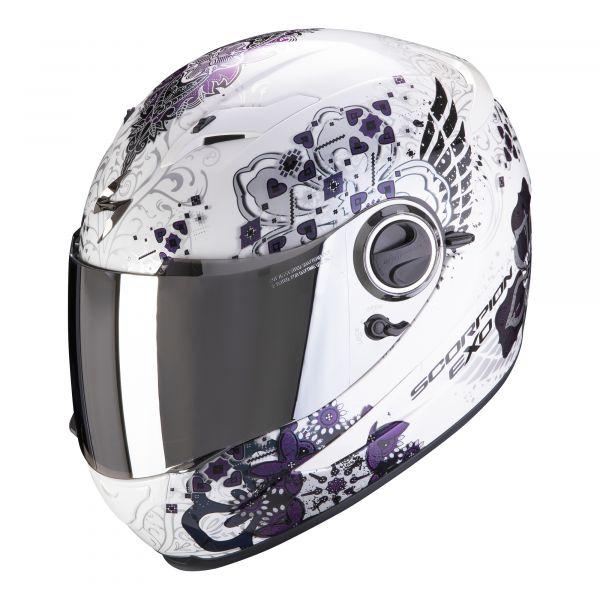 Scorpion Helm EXO-490 Divina white-chameleon