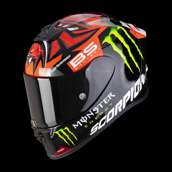 Scorpion EXO-R1 AIR Fabio Monster Replica red