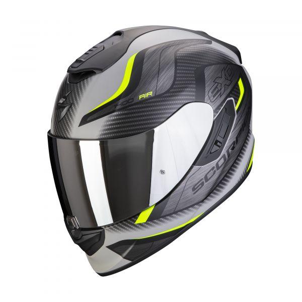 Scorpion EXO-1400 AIR ATTUNE matt grey-black-neon yellow