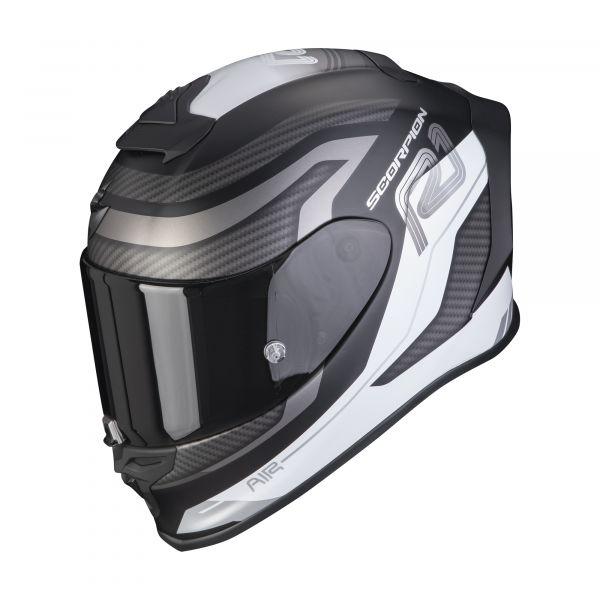 Scorpion EXO-R1 AIR VATIS matt black-white