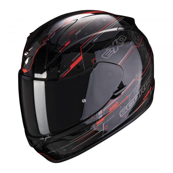 Scorpion Helm EXO-390 Beat matt black-pink