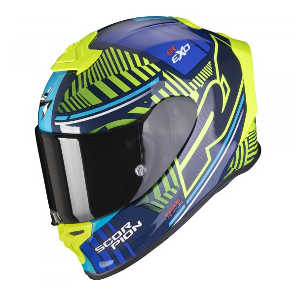 Scorpion EXO-R1 AIR Victory blue-neon yellow
