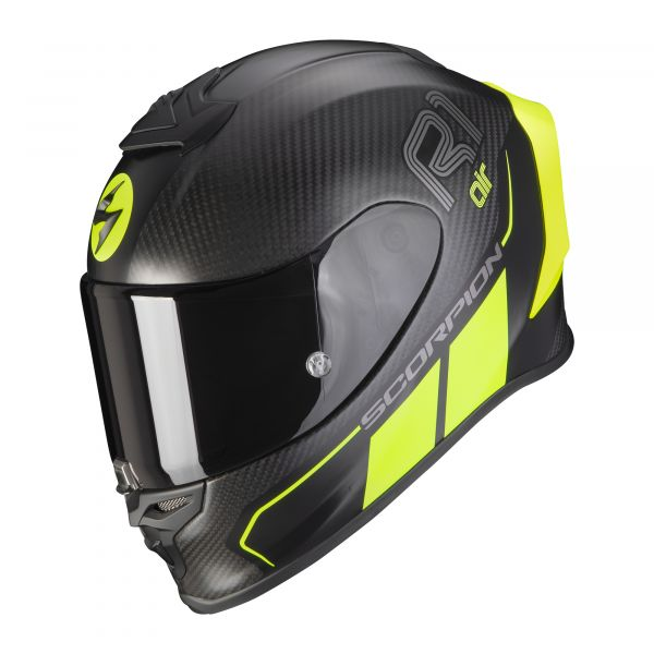 Scorpion EXO-R1 Carbon Air CORPUS matt black-neon yellow