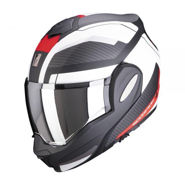 Scorpion EXO-TECH TRAP matt black-red-white