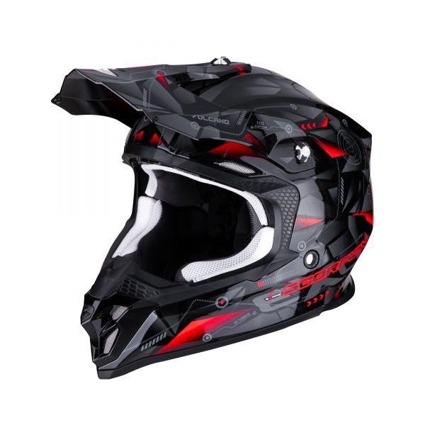 Scorpion VX-16 AIR PUNCH black-silver-red