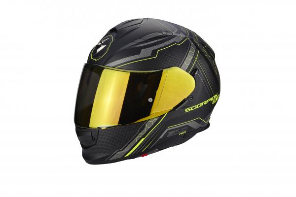 Scorpion EXO-510 AIR Sync Schwarz Neon-Gelb Matt
