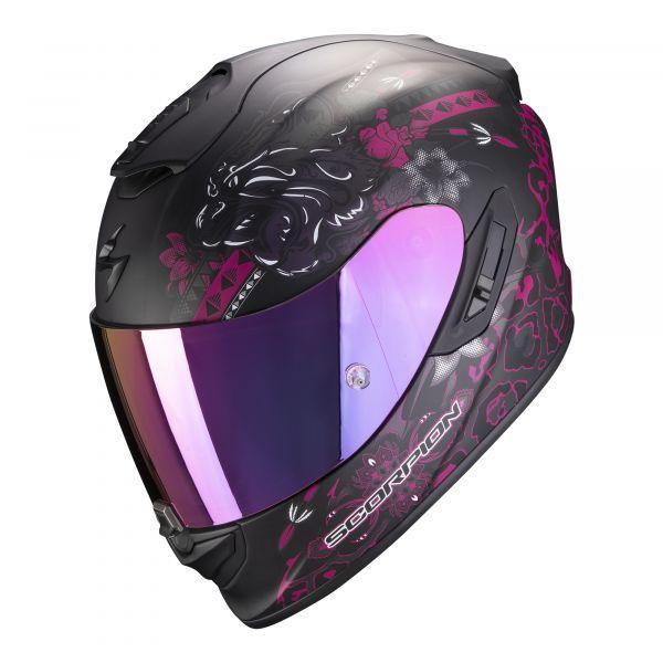 Scorpion EXO-1400 AIR TOA matt black-pink